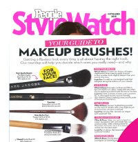 People StyleWatch | YOUR GUIDE TO MAKEUP BRUSHES!