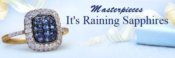 Masterpieces It's Raining Sapphires