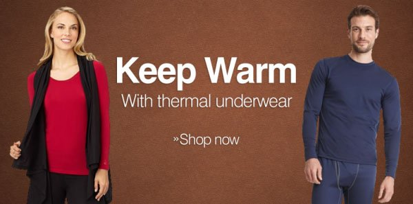 Keep Warm with Therml Underwear - Shop Now