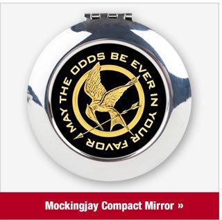 Hunger Games Mockingjay Compact Mirror