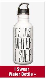 I Swear Water Bottle