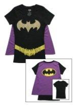 Womens Batgirl Cape T-Shirt
