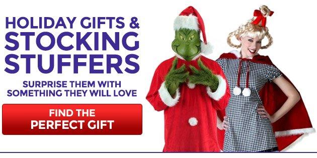 Holiday Gifts & Stocking Stuffers