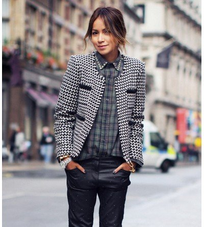 15 Best Blogger Looks Of The Week: Sweaters, Scarves, and More!