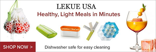 Put more holiday cheer into your kitchen with Lekue.