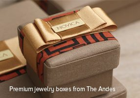 Premium jewelry boxes from The Andes