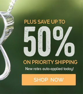 Plus Save Up To 50% On Priority Shipping - New rates auto-applied today - Shop Now