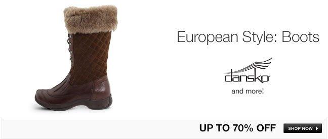 European Style: Boots