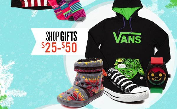 Gifts $25 to $50
