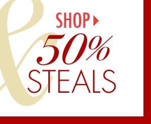 Shop 50% Steals