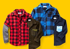 Button-Up: Shirts For Boys