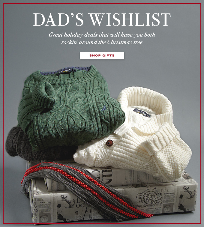 Shop Gifts For Dad !