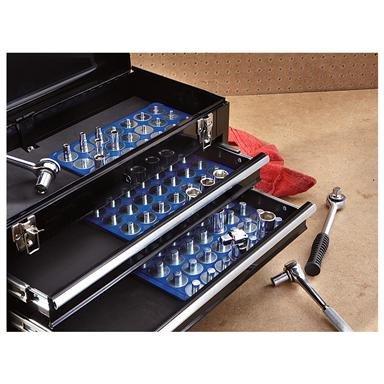 Falcon Tools™ 3-Pc. Socket Caddy Set