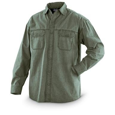 Guide Gear® Pigment-dyed Long-sleeved Shirt