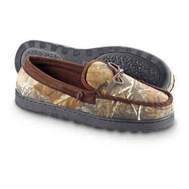 Men's Guide Gear® Moccasin Slippers
