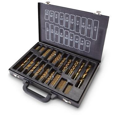 160-Pc. Titanium Drill Bit Set