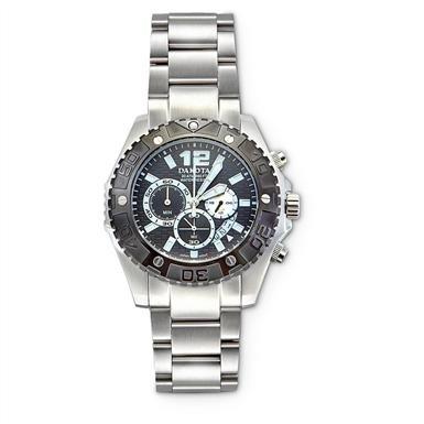 Dakota Watch Company® Stainless Steel Chronograph Watch