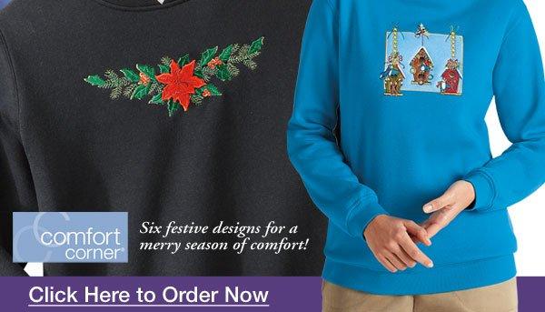 Embroidered Fleece $12.99 each when you buy 2