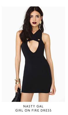 Nasty Gal Girl On Fire Dress