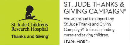 St. Jude Thanks & Giving Campaign