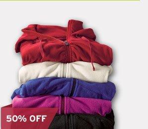 Shop Women's Powder Fleece Jacket