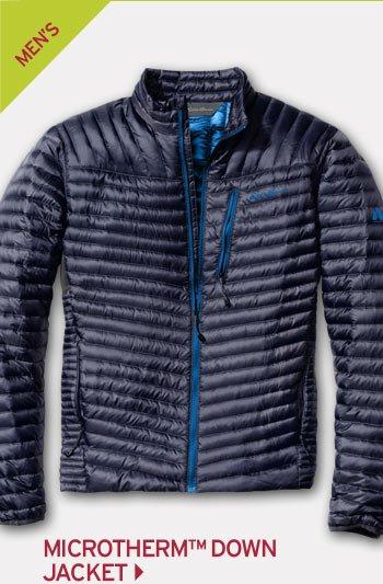 Shop Men's Microtherm Down Jacket