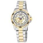 Invicta 15229 Men's Specialty Python Mechanical Gold Tone Skeleton Dial Two Tone Steel Bracelet Watch