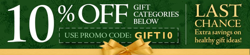 Healthy Holiday Gift Sale