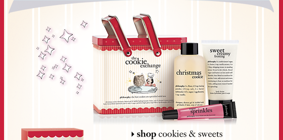 shop cookies & sweets