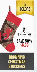 Browning Christmas Stockings