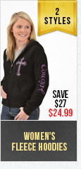 Womens Fleece Hoodies