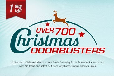 Shop 700 Christmas Doorbusters