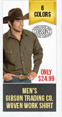 Mens GisbsonTrading Work Shirt