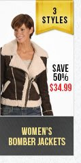 Womens Bomber Jackets