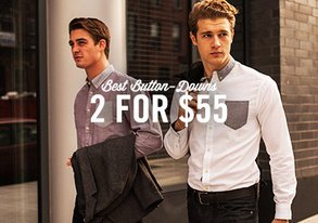 Shop Best Button-Downs: 2 for $55