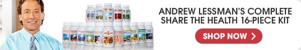 ANDREW LESSMAN'S COMPLETE SHARE THE HEALTH 16-PIECE KIT - SHOP NOW
