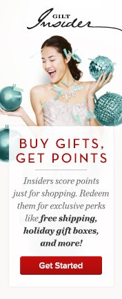 Buy gifts get points