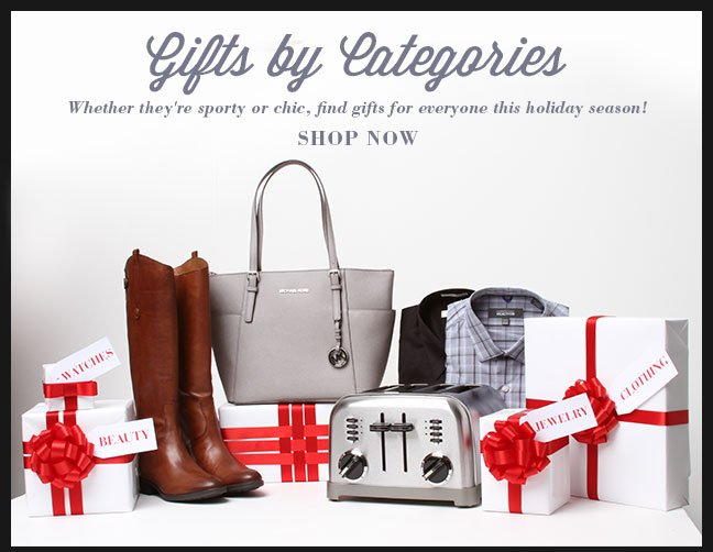 Shop Gifts by Category
