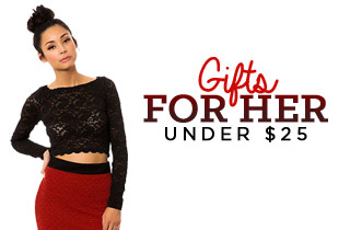 Gifts for Her: Under $25