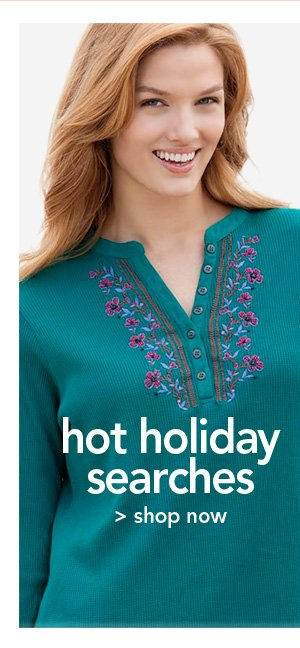 Shop Hot Holiday Searches