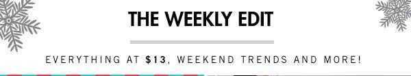 The Weekly Edit!