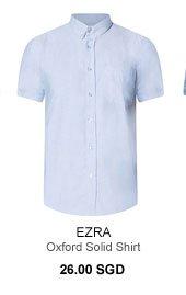 Ezra Oxford Solid Shirt