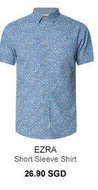 Ezra Floral Denim Shirt