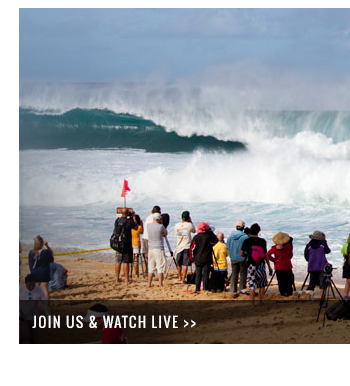 Join us in your local surf shop and watch the contest live