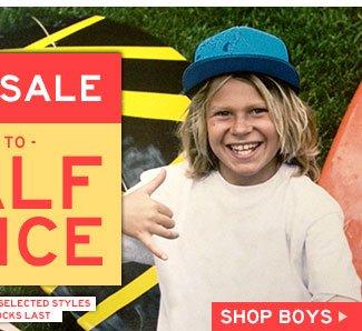 Shop Boys Sale