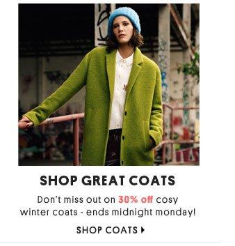 SHOP GREAT COATS - SHOP COATS