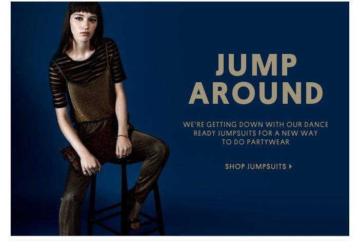JUMP AROUND - SHOP JUMPSUITS