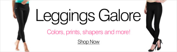 Leggings Galore - Colors, prints, shapers and more - Shop now