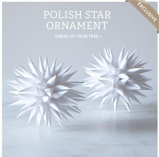 Polish Star Ornament
