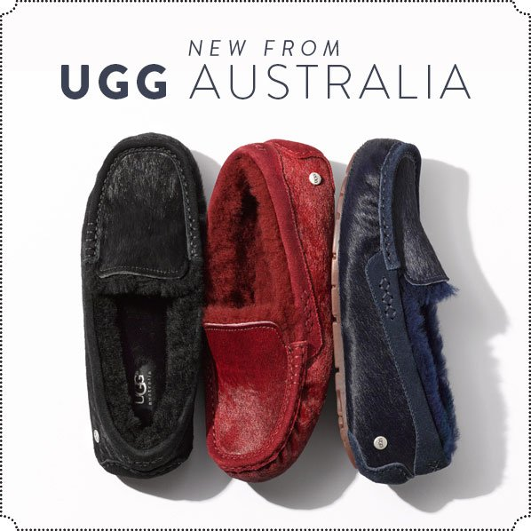 NEW FROM UGG AUSTRALIA